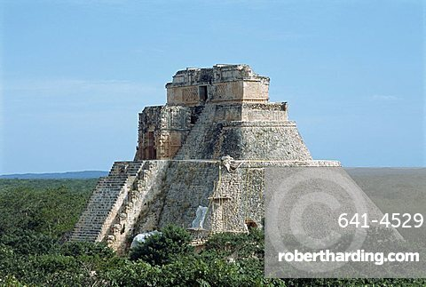 Uxmal, UNESCO World Heritage Site, Yucatan, Mexico, North America