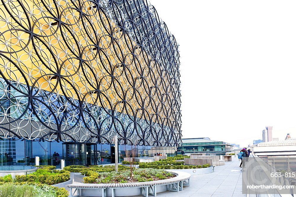 View of The Library of Birmingham.