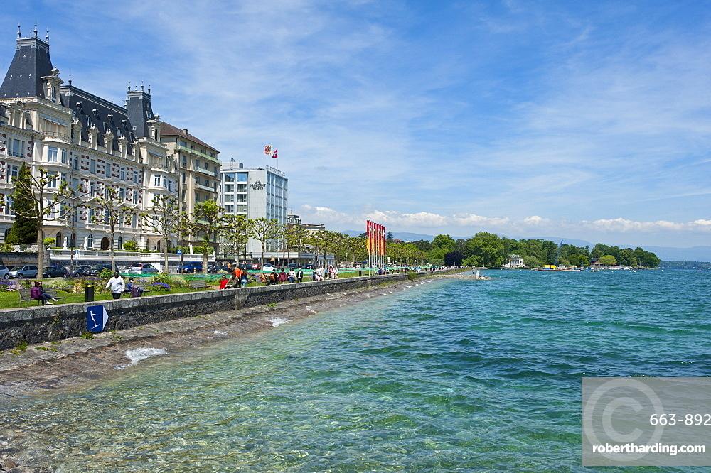 Lac Leman, Geneva, Switzerland, Europe