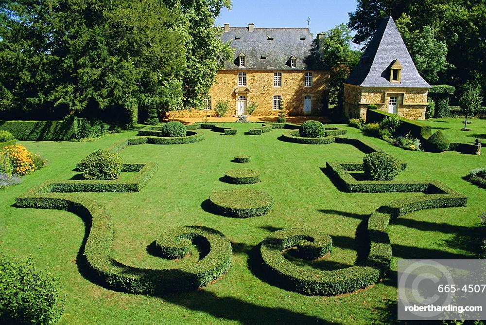 jardins deyrignac gardens of a 17th century manor perigord aquitaine - Jardin D Eyrignac