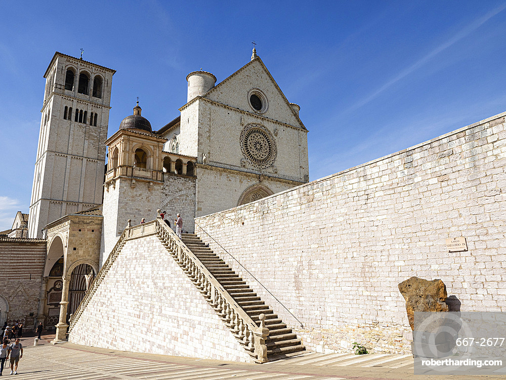 Basilica of St Francis, Assisi, Umbria, Italy