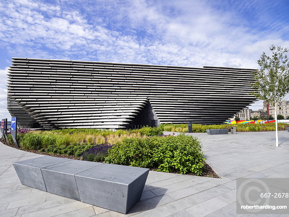 V&A Museum of Design, Waterfront, Dundee, Scotland, United Kingdom, Europe