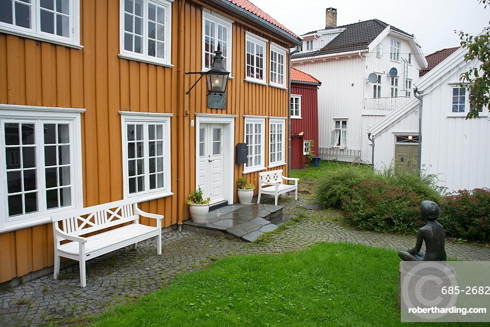 Henrik Ibsen's house, Grimstad, Norway