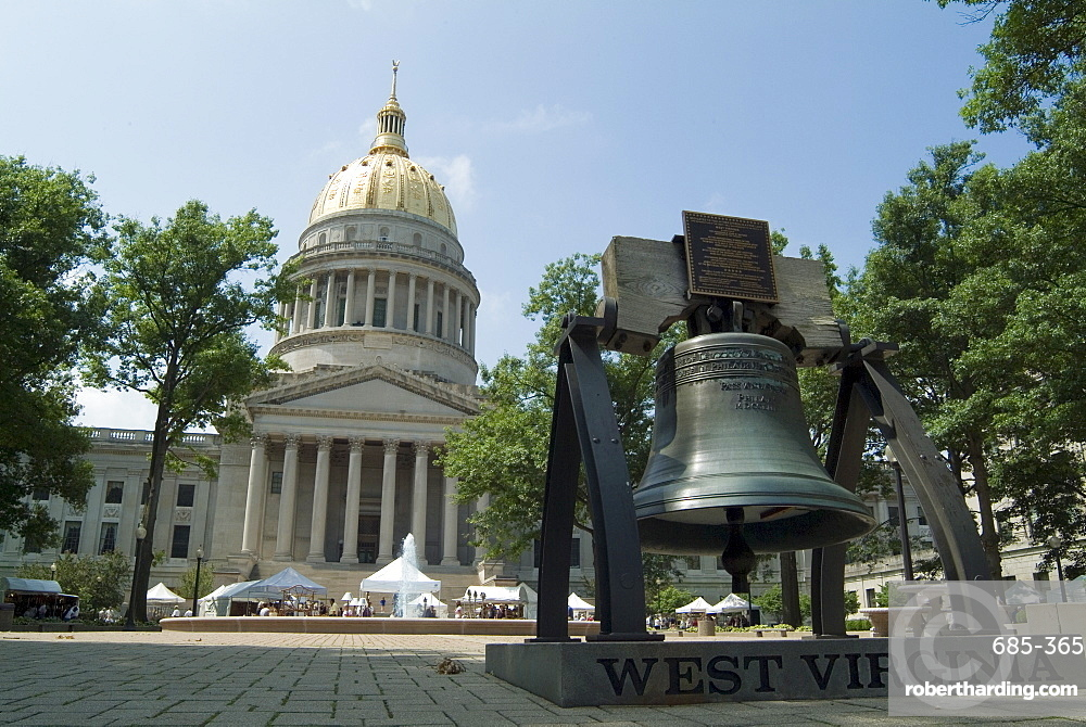 State Capitol, Charleston, West Virginia, United States of America, North America