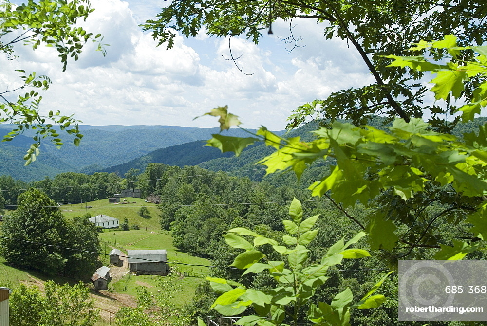 Countryside, West Virginia, United States of America, North America