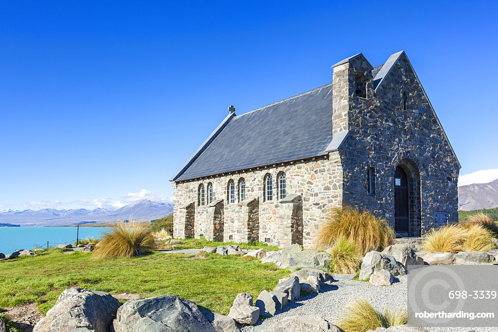 The Church of the Good Shepherd, by Lake Tekapo, South Island, New Zealand, Pacific