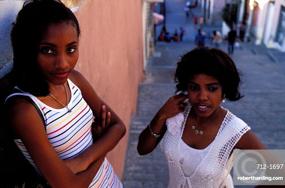 Santiago girls