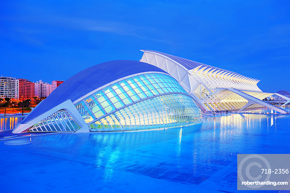 City of Arts and Sciences, Valencia, Spain, Europe