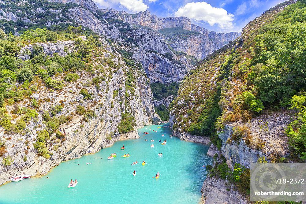 St Croix Lake, Gorges du Verdon, Provence-Alpes-Cote d'Azur, Provence, France