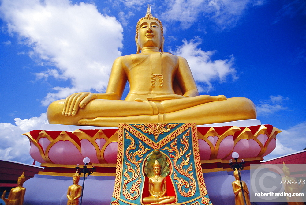 Big Buddha, Ko Samui, Thailand *** Local Caption ***