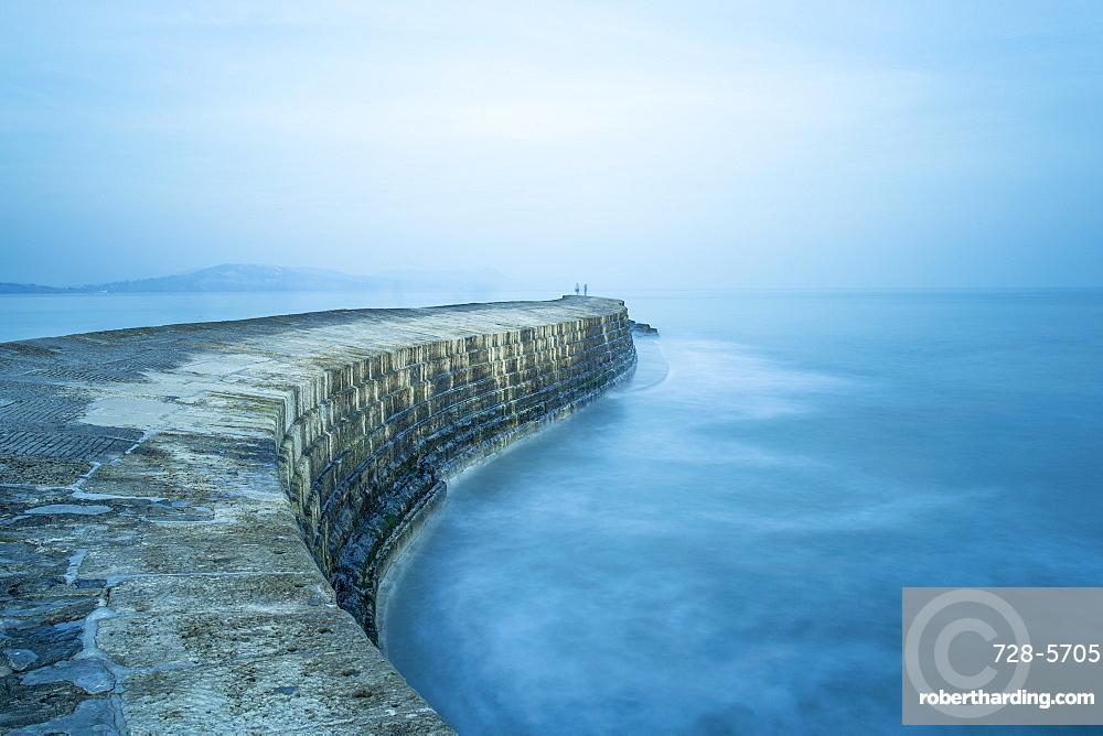 The Cobb, Lyme Regis, Dorset, England, United Kingdom, Europe