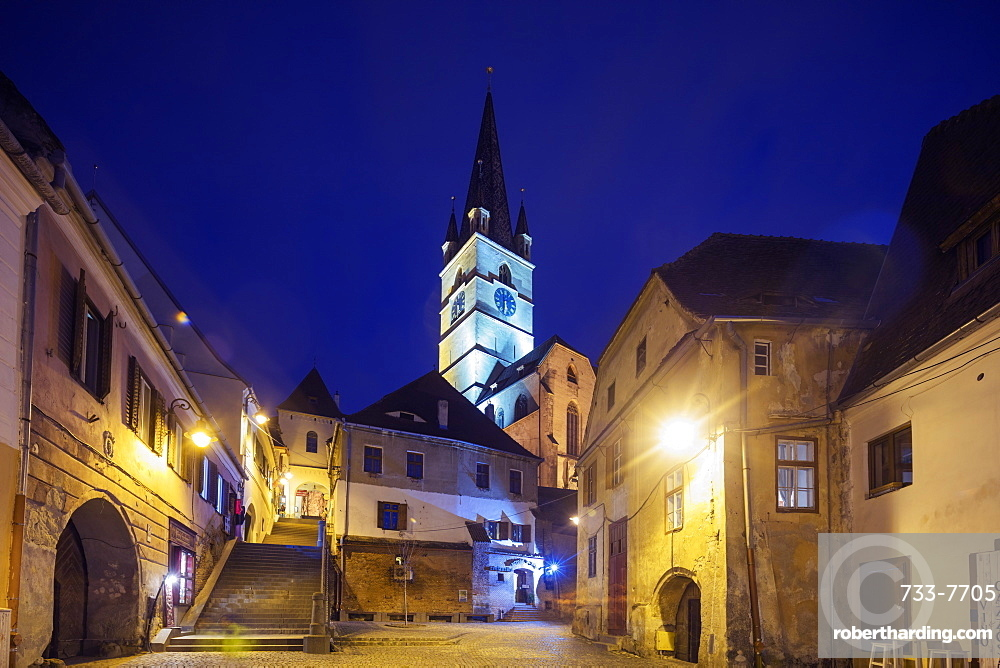 Eastern Europe, Romania, Sibiu, Old Town