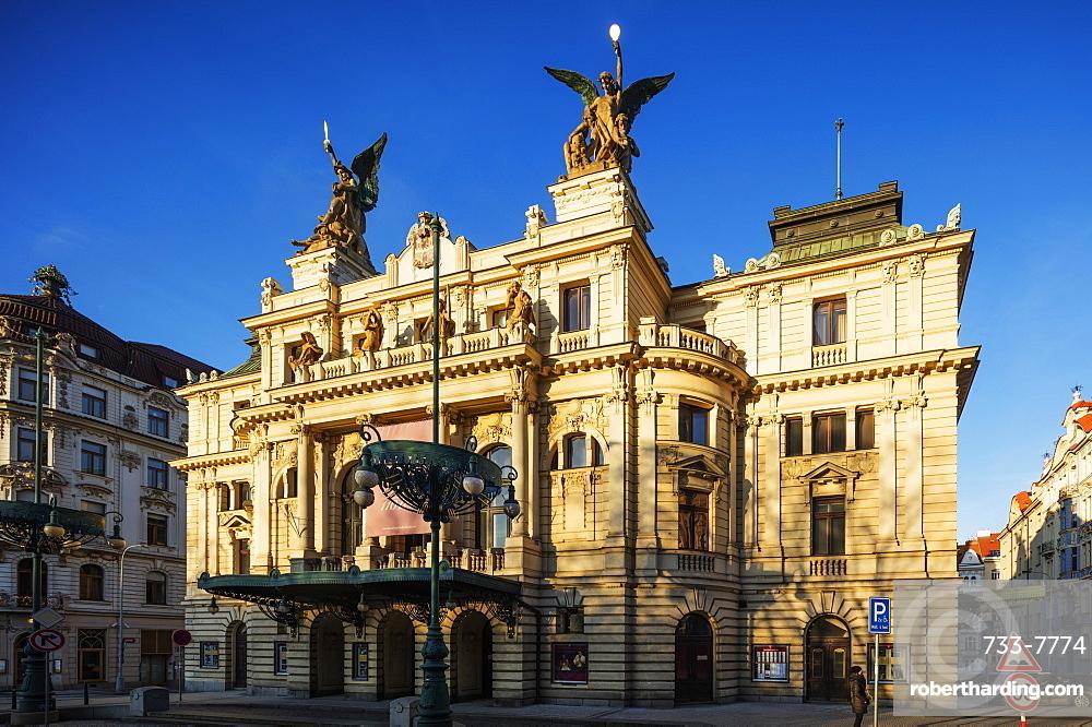 Vinohrady Theatre, Prague, Czech Republic, Europe