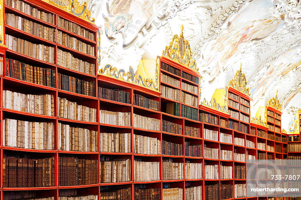 Strahov Library, Prague, Czech Republic, Europe