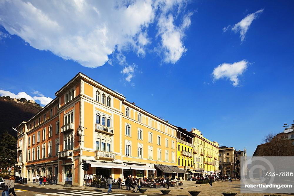 Europe, Italy, Lombardy, Lake Como, Como town