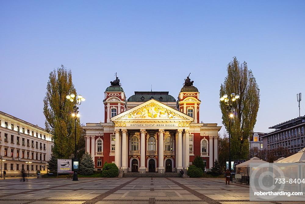 Eastern Europe, Bulgaria, Sofia, Ivan Vazov National Theatre