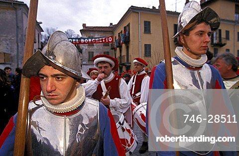 Soldiers, Ivrea, Piemonte, Italy
