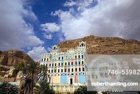 Bugshan Palace, Wadi Doan, Yemen, Middle East