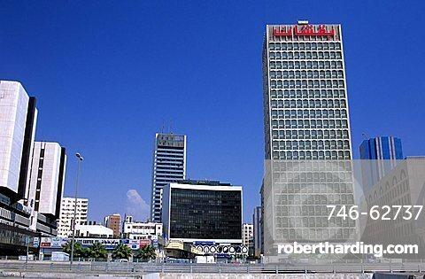 Modern buildings, Jeddah, Saudi Arabia,   Stock Photo