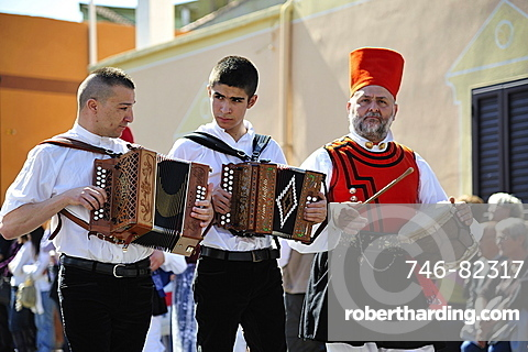 Sagra degli Agrumi, traditional feast, Muravera, Sardinia, Italy, Europe