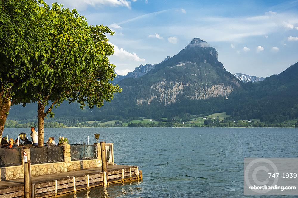 Wolfgangsee, St. Wolfgang, Austrian Lakes, Austria, Europe