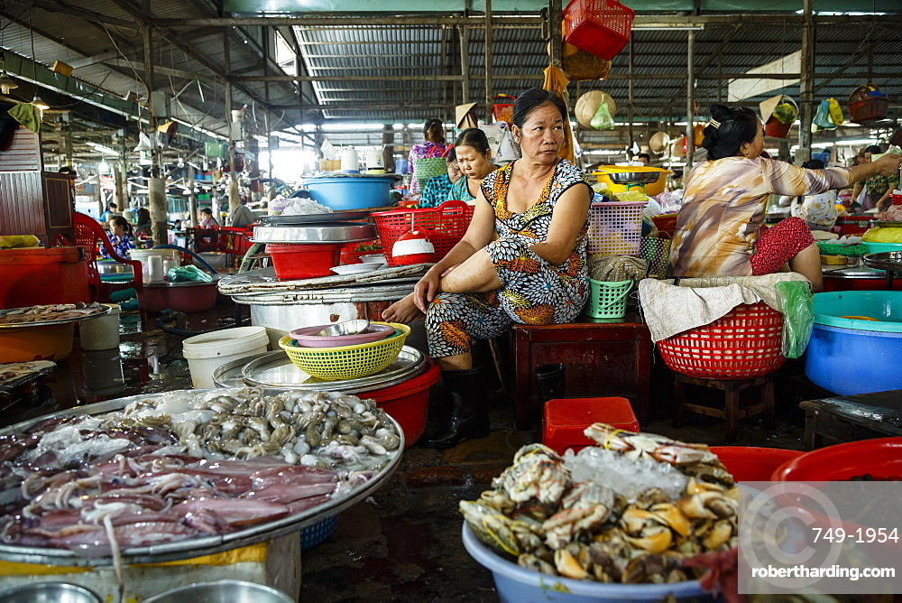 Can Tho Market, Mekong Delta, Vietnam, Indochina, Southeast Asia, Asia