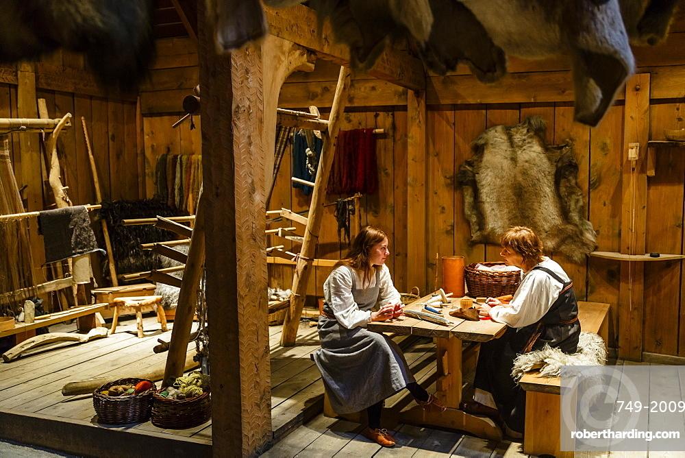 The Viking Museum, Borg, Lofoten Islands, Arctic, Norway, Scandinavia, Europe