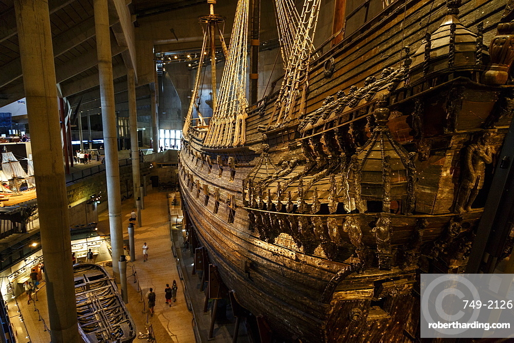 Vasa Museum, Djurgarden, Stockholm, Sweden, Scandinavia, Europe
