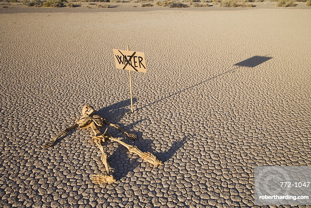 The Racetrack Point, Death Valley National Park, California, United States of America, North America