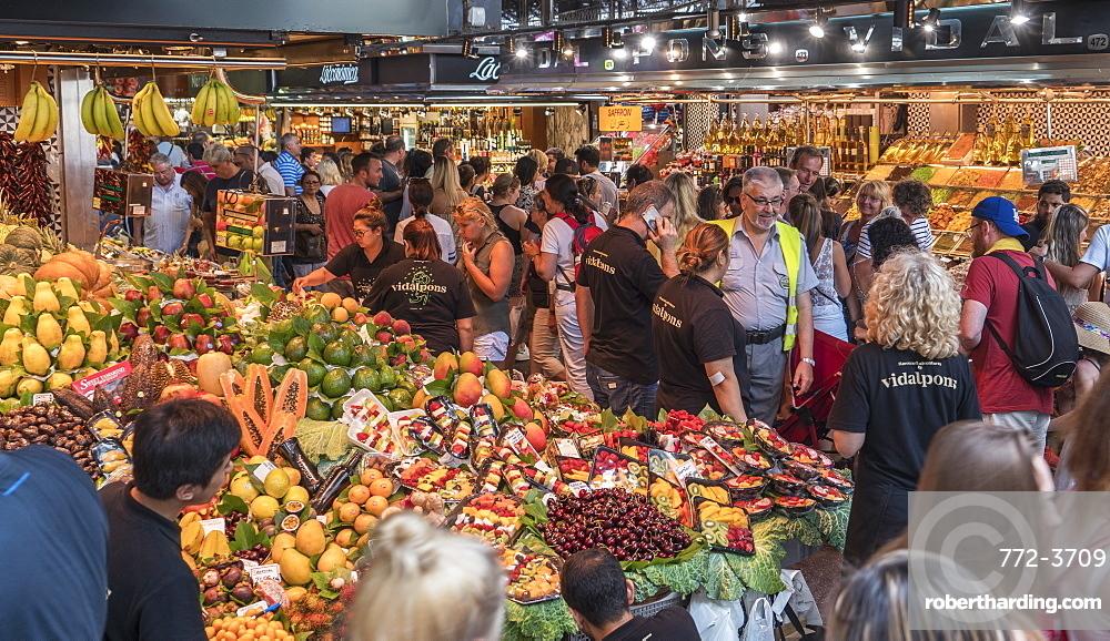 Spain. Barcelona. Market 'La boqueria'