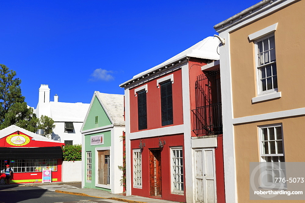 Duke of York Street, Town of St. George, St. George's Parish, Bermuda, Central America