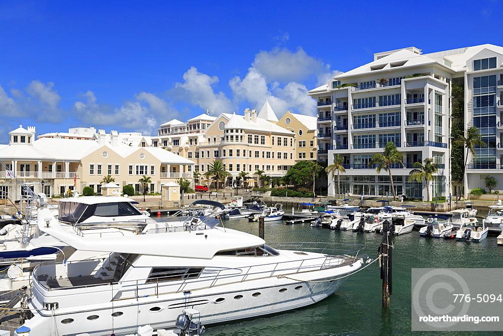 Waterfront Marina, Hamilton City, Pembroke Parish, Bermuda, Atlantic, Central America