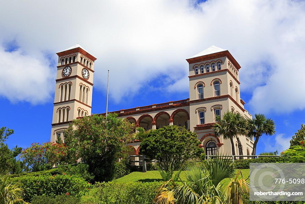 Sessions House, Hamilton City, Pembroke Parish, Bermuda, Atlantic, Central America