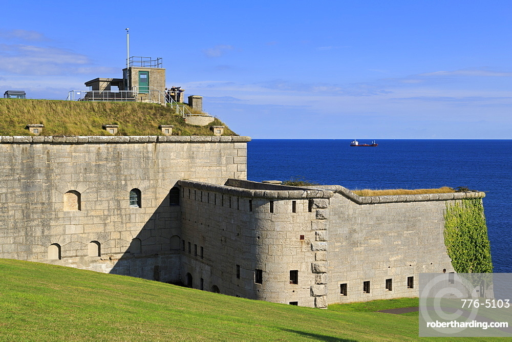 Nothe Fort Museum, Weymouth, Dorset, England, United Kingdom, Europe