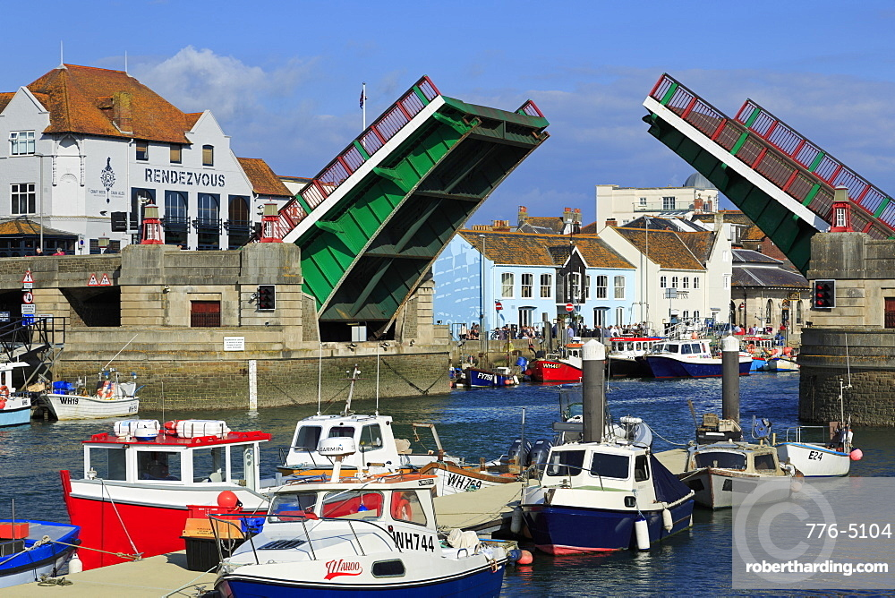 Town Bridge, Weymouth, Dorset, England, United Kingdom, Europe