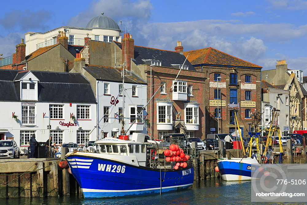 Weymouth Harbour, Dorset, England, United Kingdom