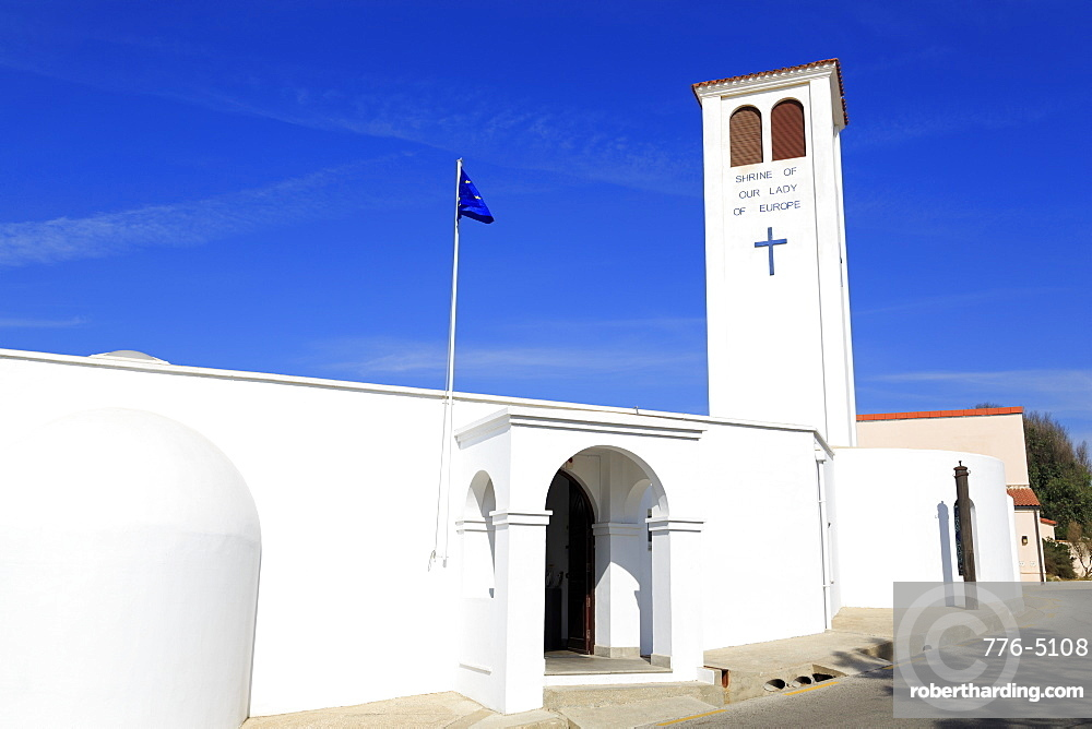 Shrine of Our Lady of Europe, Europa Point, Gibraltar, United Kingdom, Europe