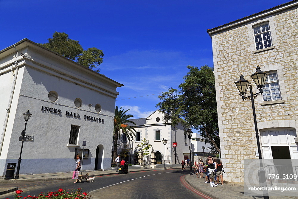Theatre, Main Street, Gibraltar, United Kingdom, Europe
