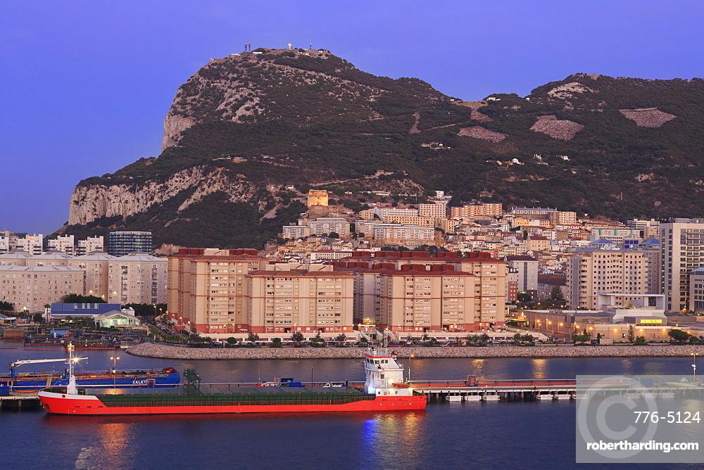 Gibraltar Port, Rock of Gibraltar, United Kingdom, Europe