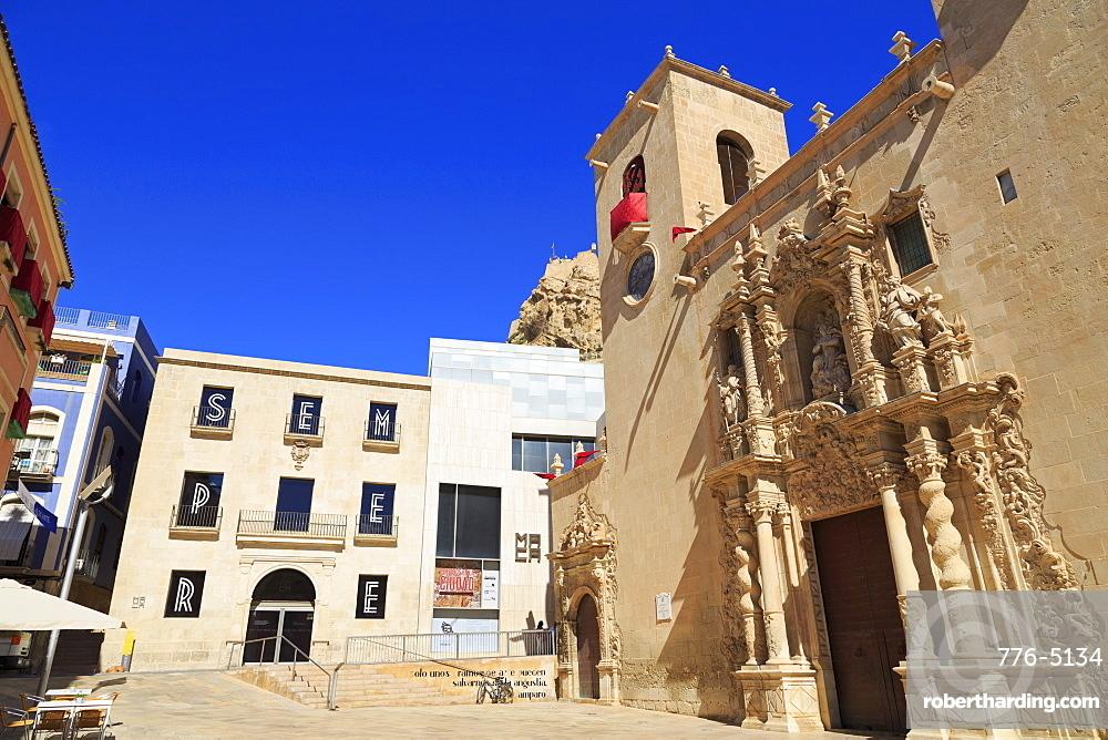 Basilica de Santa Maria, Alicante, Spain, Europe
