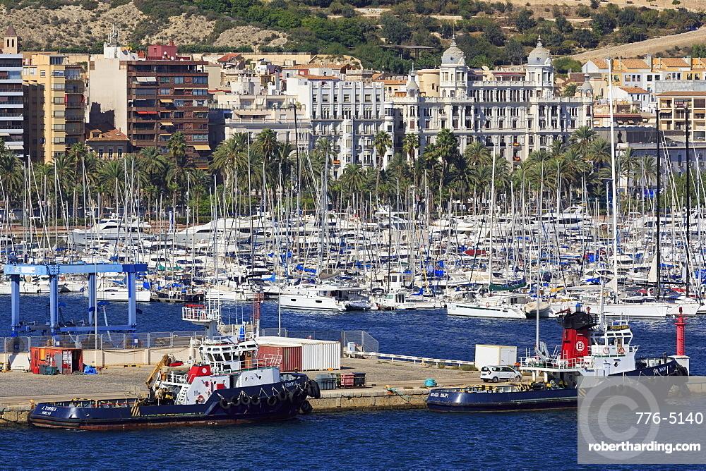 Port of Alicante, Costa Blanca, Spain, Europe