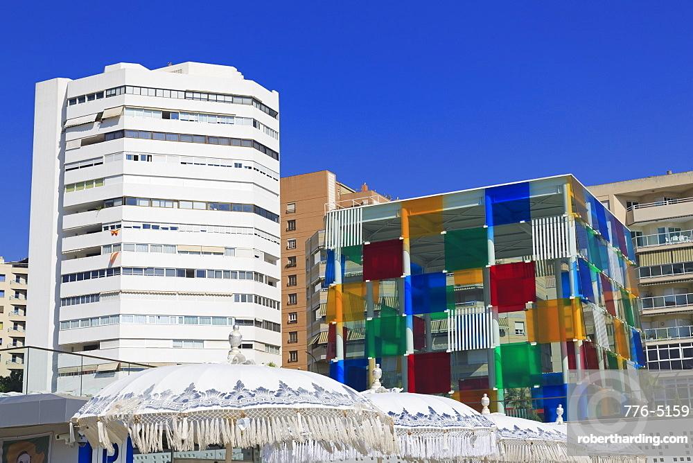 Centre Pompidou Museum, Malaga City, Andalusia, Spain, Europe