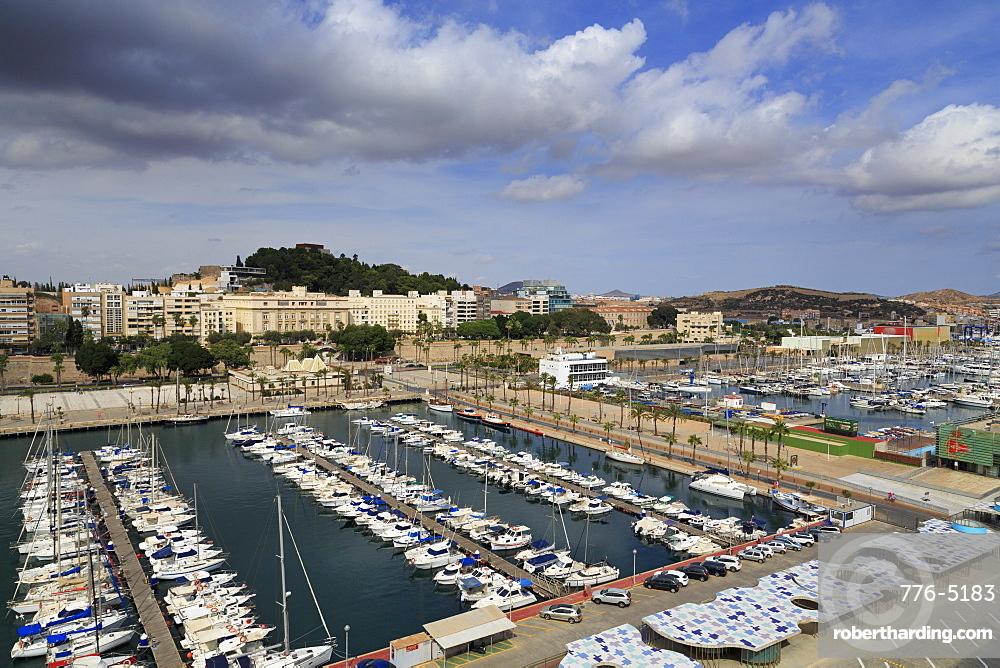 Yacht Marina, Cartagena, Murcia, Spain, Europe