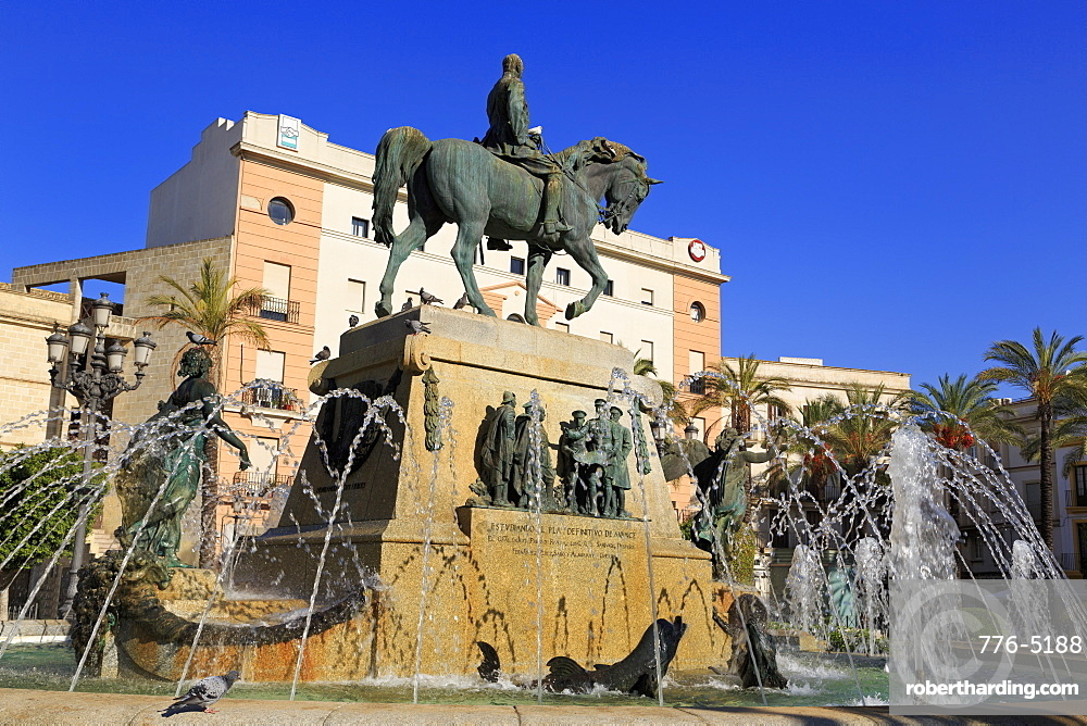 General Miguel Primo de Rivera, Plaza de Arenal, Jerez de la Frontera, Andalusia, Spain, Europe