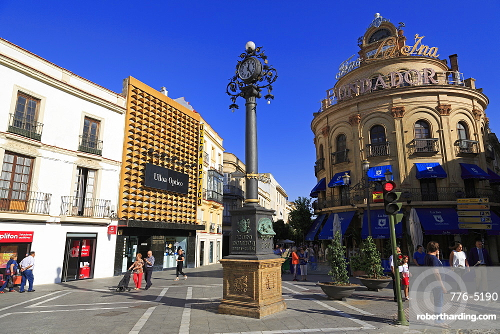 Plaza Esteve, Jerez de la Frontera, Andalusia, Spain, Europe