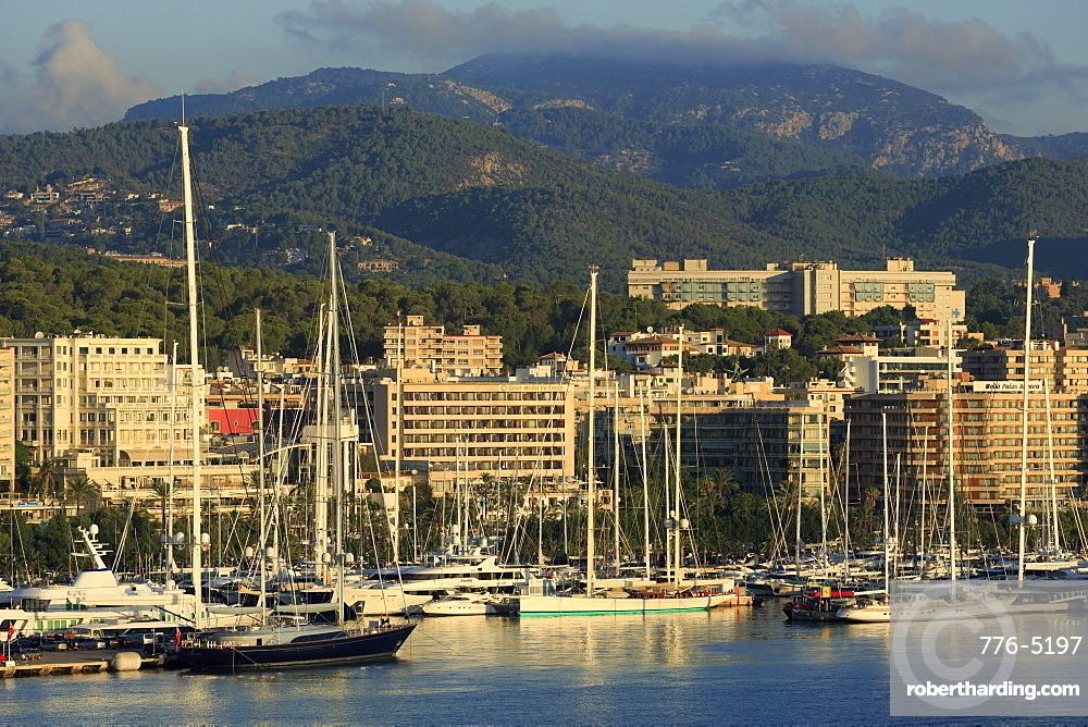 Yacht Marina, Palma De Mallorca, Majorca, Belearic Islands, Spain, Europe