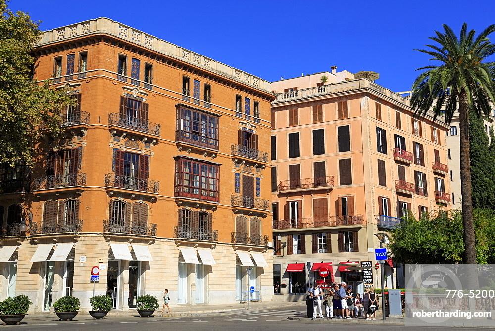 Plaza de la Reina, Palma De Mallorca, Majorca, Balearic Islands, Spain, Europe