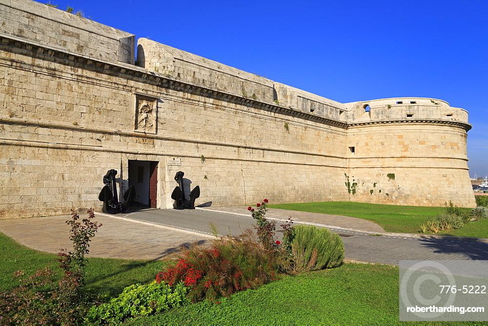 Michelangelo Fort (Guilia), Civitavecchia, Lazio, Italy, Europe
