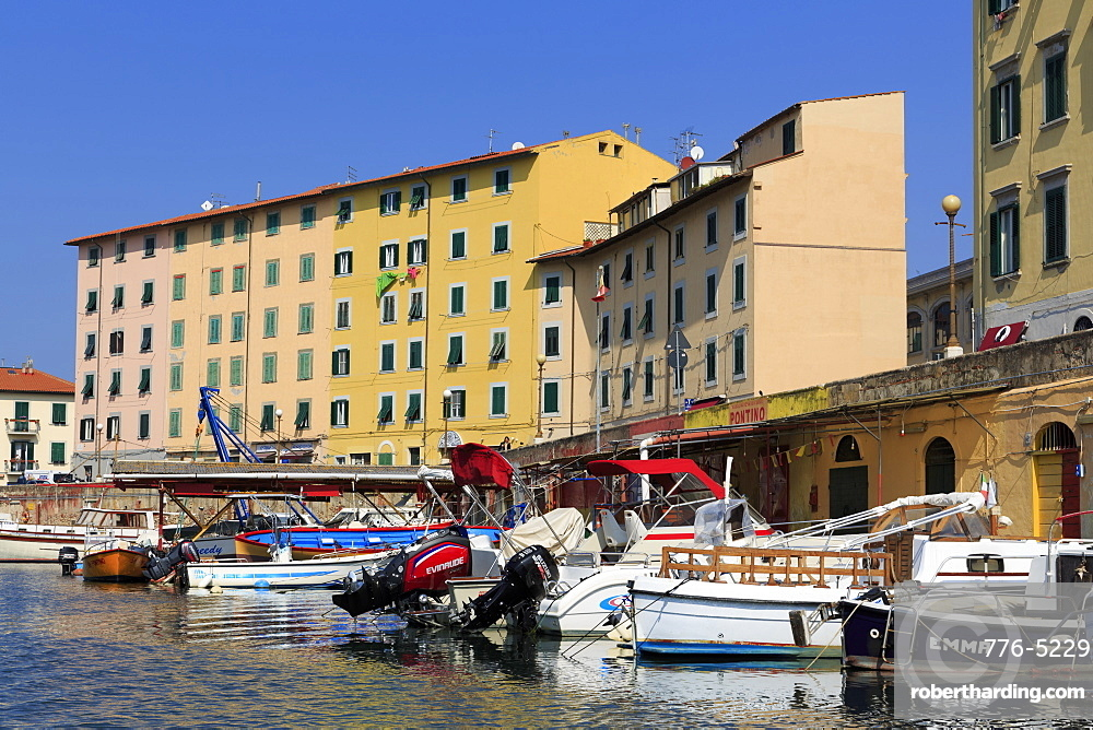 Scali Delle Cantine, Livorno, Tuscany, Italy, Europe