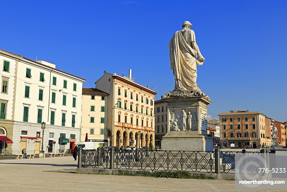 Piazza della Repubblica, Livorno, Tuscany, Italy, Europe